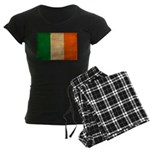 Ireland Flag Women's Dark Pajamas
