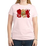 Peru Flag Women's Light T-Shirt
