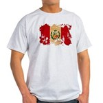 Peru Flag Light T-Shirt