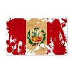 Peru Flag 22x14 Wall Peel