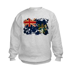 Pitcairn Islands Flag Kids Sweatshirt