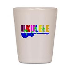 Hawaiian Ukulele Shot Glass