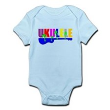 Hawaiian Ukulele Infant Bodysuit