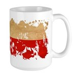 Poland Flag Large Mug