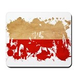Poland Flag Mousepad