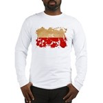 Poland Flag Long Sleeve T-Shirt
