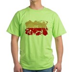 Poland Flag Green T-Shirt