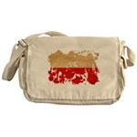 Poland Flag Messenger Bag
