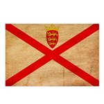 Jersey Flag Postcards (Package of 8)