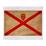 Jersey Flag Throw Blanket