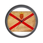 Jersey Flag Wall Clock
