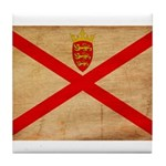 Jersey Flag Tile Coaster