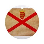 Jersey Flag Ornament (Round)