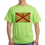 Jersey Flag Green T-Shirt