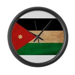 Jordan Flag Large Wall Clock