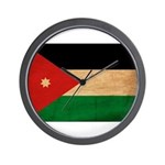 Jordan Flag Wall Clock