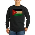 Jordan Flag Long Sleeve Dark T-Shirt