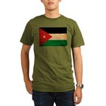 Jordan Flag Organic Men's T-Shirt (dark)