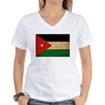 Jordan Flag Women's V-Neck T-Shirt
