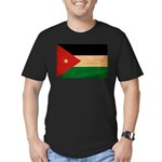 Jordan Flag Men's Fitted T-Shirt (dark)