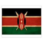 Kenya Flag Small Poster