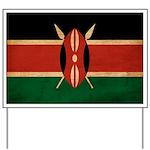 Kenya Flag Yard Sign