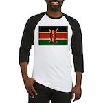 Kenya Flag Baseball Jersey