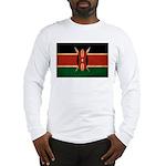 Kenya Flag Long Sleeve T-Shirt