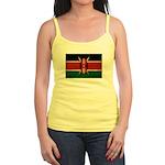 Kenya Flag Jr. Spaghetti Tank