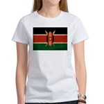Kenya Flag Women's T-Shirt