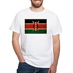 Kenya Flag White T-Shirt