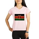 Kenya Flag Performance Dry T-Shirt