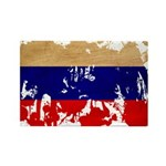 Russia Flag Rectangle Magnet