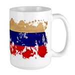 Russia Flag Large Mug