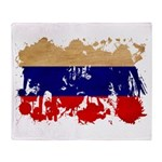 Russia Flag Throw Blanket