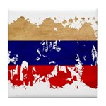 Russia Flag Tile Coaster