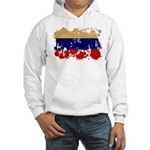 Russia Flag Hooded Sweatshirt