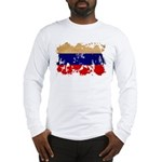 Russia Flag Long Sleeve T-Shirt