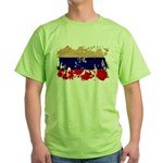 Russia Flag Green T-Shirt