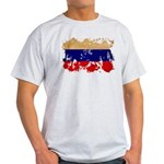 Russia Flag Light T-Shirt
