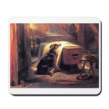 Landseer's Mourner Greyhound Mousepad