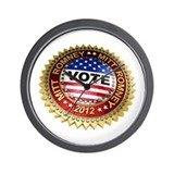 Vote Mitt Romney 2012 Wall Clock