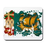 Saint Pierre and Miquelon Fla Mousepad