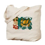 Saint Pierre and Miquelon Fla Tote Bag