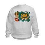Saint Pierre and Miquelon Fla Kids Sweatshirt