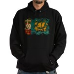 Saint Pierre and Miquelon Fla Hoodie (dark)