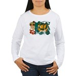 Saint Pierre and Miquelon Fla Women's Long Sleeve