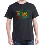 Saint Pierre and Miquelon Fla Dark T-Shirt