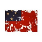 Samoa Flag Rectangle Magnet