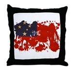 Samoa Flag Throw Pillow